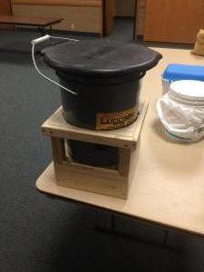 Port-A-Loo Stand